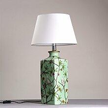 CS Klassische Keramik Vase Tischlampe Schlafzimmer