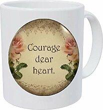 CS Lewis Courage Dear Heart inspirierendes Zitat