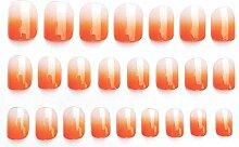 CSCH Künstliche Nägel 24 Stück/Box charmante