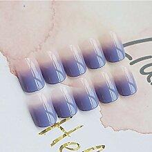 CSCH Künstliche Nägel 24pcs Damen gefälschte