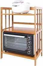 csd Bambus Küche Rack Mikrowelle Lagerregal