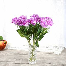 CSNCH Künstliche Rosen, künstliche Blumen,