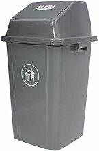 CSQ Kunststoff Mülleimer, Outdoor High Capacity