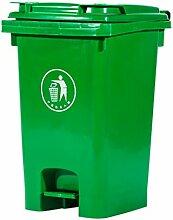 CSQ Pedal Mülleimer, Outdoor Mülleimer Hohe