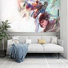 Csqw Attacking Giant Tapete Tapeten Wandbilder