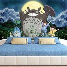 Csqw Totoro Tapete Tapeten Wandbilder Wandgemälde