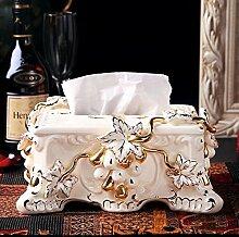 CSQzh Tissue Box Creative Keramik Tissue Box