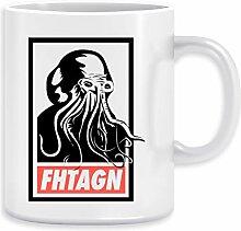 Cthulhu Fhtagn Kaffeebecher Becher Tassen Ceramic