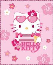 CTI 032756 Fleece Decke Hello Kitty Tropical / 130