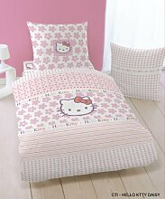 CTI 036795 Bettwäsche Hello Kitty Daisy 135 x 200