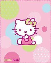 CTI 037589 Fleece Decke Hello Kitty Balloon / 130