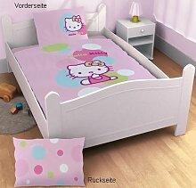 CTI 037606 Baby-Bettwäsche Hello Kitty Balloon /