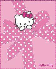 CTI 038777 Fleece Decke Hello Kitty Plumetis / 130