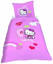 CTI 039549 Bettwäsche Hello Kitty Apple / Linon /