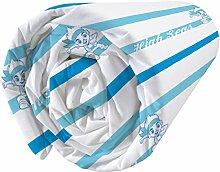 CTI 042742Jake and Piraten Tresor Spannbettlaken Baumwolle/Polyester Blau 90x 190cm