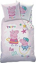 CTI 044727 Peppa Pig Recreation Bettwäsche für