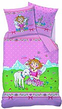 CTI Kinderbettwäsche Bettwäsche Prinzessin