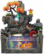 CTO Große Steingarten Brunnen Dekoration Aquarium