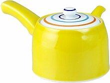 CtoCJAPAN Keramik-Teekanne, 450 ml, hochwertiges