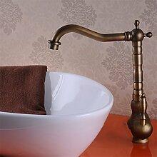 Cu alle Badewanne Armatur antiken Continental Hahn Waschbecken Armaturen Dusche mit heißem und kaltem Wasser, Farbwiedergabe