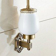 Cu alle Continental antikes WC-Bürste KIT, Retro geschnitzten WC-Bürste Regal wc Kupferlitze, WC-Bürste
