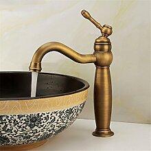Cu alle Continental Wasserhahn WASCHTISCH MISCHER kaltes Wasser - Messing Sitzbank Waschbecken Mischbatterie,Antike Wasserhahn