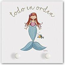 CUADRIMAN Garderobe der kleine Meerjungfrau,