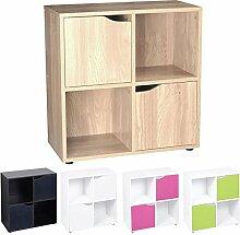 Cube Regal–Holz Bücherregal mit