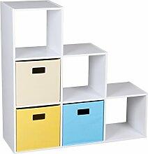 Cube Schritt Bücherregal/Bücherregal/Spielzeug,