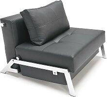 Cubed Deluxe 90 - Sessel -  Kunstleder Schwarz