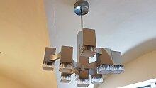 Cubic Kronleuchter mit 9 Leuchten von Gaetano