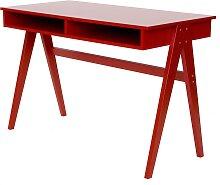Cubo - Schreibtisch - Rot