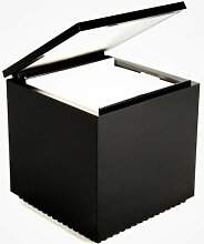 Cuboled LED Nachttischleuchte, schwarz LxBxH