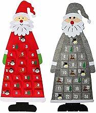 Cucheeky Weihnachts Adventskalender Wandbehang DIY