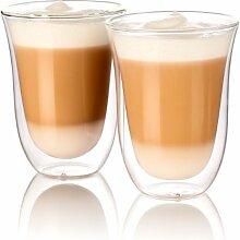Cucina di Modena Kaffeeglas: Doppelwandige