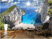 Cucsaistat Landschaftstapete Strand, Zakynthos, 3D