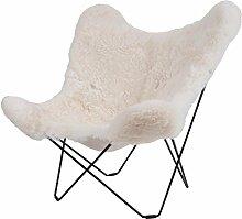 Cuero Iceland Mariposa Butterfly Chair Sessel,