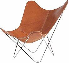 Cuero Pampa Mariposa Butterfly Chair Sessel,