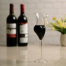 CUHAWUDBA Kreative Tasse Glas Humanweinglas Sexy