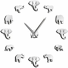 CUHAWUDBA Urwald Tiere Elefant DIY Gro?E Wand