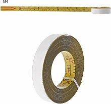Edelstahl Lineal metrisches Ma/ßband 5M 3m // 5m Cuigu Einziehbares Ma/ßband