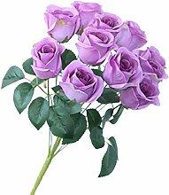 Cuisit 1 Bund 1 Künstlichen Rosen Rosensträußen