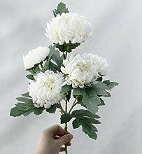 Cula Chrysantheme Künstliche Seidenblumen,
