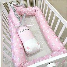 CULASIGN Bettumrandung Baby Nestchen Kinderbett
