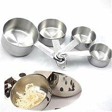 CULER Backen-Werkzeuge Für Kuchen 4pcs Edelstahl