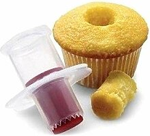 CULER Silikon-Plunger Runde Form Cupcake