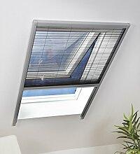 Culex Dachfenster-Sonnenschutzplissee 110 x 160 cm, silber, 100540103-VH