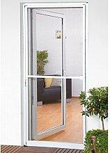 CULEX Insektenschutz-Türbausatz Basic BxH: 100 x 210 cm, weiß 100 cm, Türen, 210 cm, anthrazi