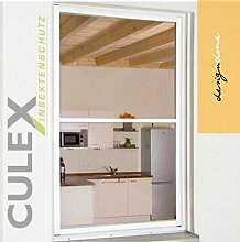 """CULEX Insektenschutzfenster """"MASTER XL"""" 130x220cm braun"""