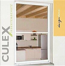 """CULEX Insektenschutzfenster """"MASTER XL"""" 130x220cm weiß"""